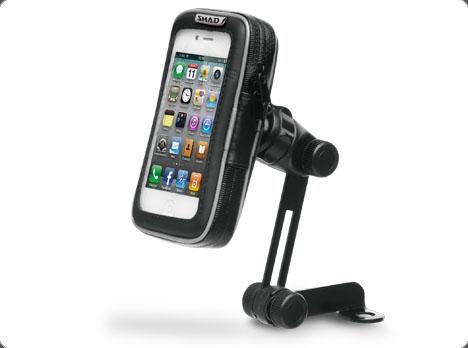 soporte celular 5,5 con soporte para espejo shad