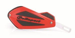 cubre manos polisport shield rojo