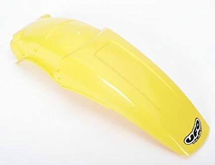 guardabarro trasero suzuki rm 125 250 89-92 amarillo ufo
