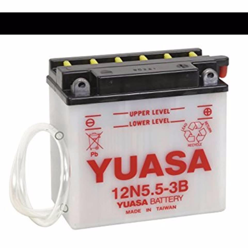 bateria yuasa 12n5.5 - 3b