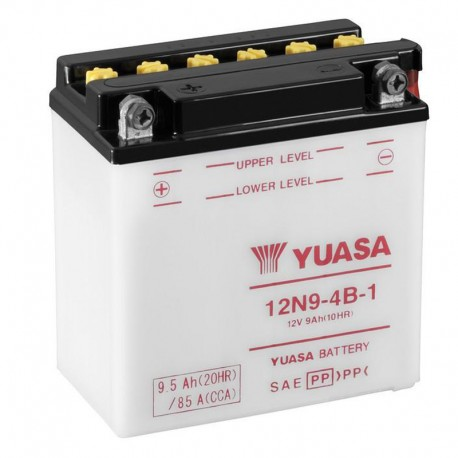 bateria yuasa 12n9 - 4b-1