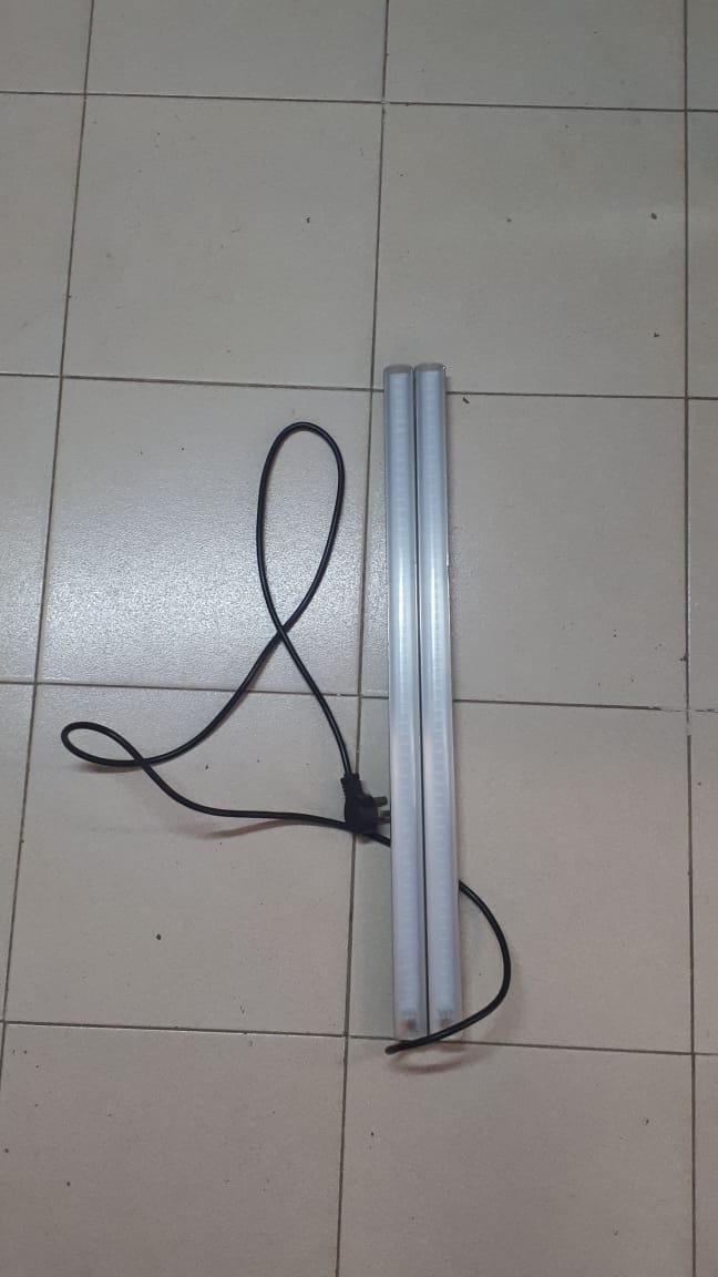 luz led 76,5cm X 6cm 3h