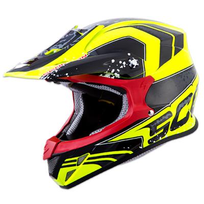 casco scorpion vx-r70 amarillo fluor talle xl (61-62cm)
