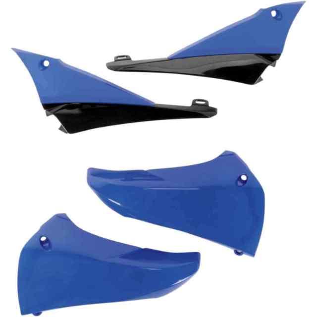 aletas tanque superior yamaha yzf 450 10/13 elec blue ufo