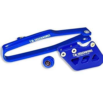 kit guia + desliza cadena TM yamaha yz yzf 07/17 dirtcross azul