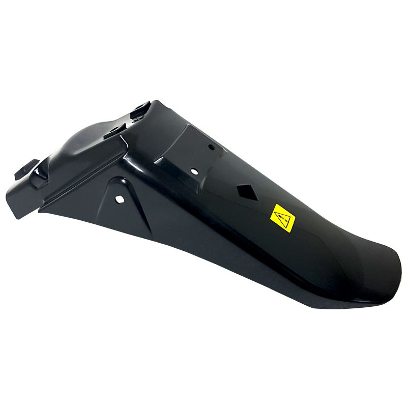 guardabarro trasero negro zanella rx150